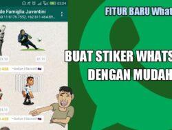 Cara Mudah Membuat Stiker WhatsApp dengan Gambar Sendiri