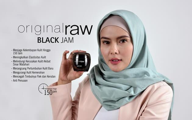 review black jam original raw k-link indonesia, krim pemutih wajah asli korea