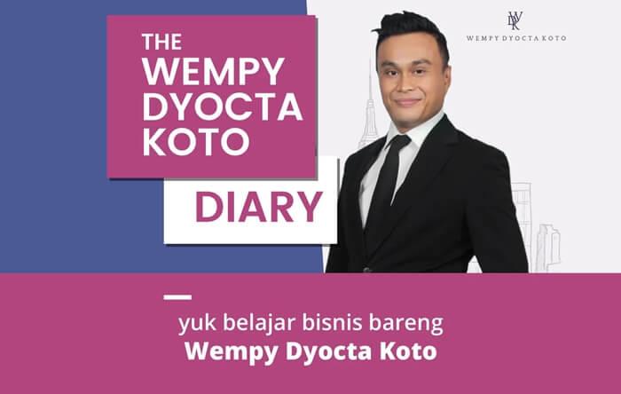 strategi terbaik dan cara memulai bisnis untuk pemula bersama wempy dyocta koto