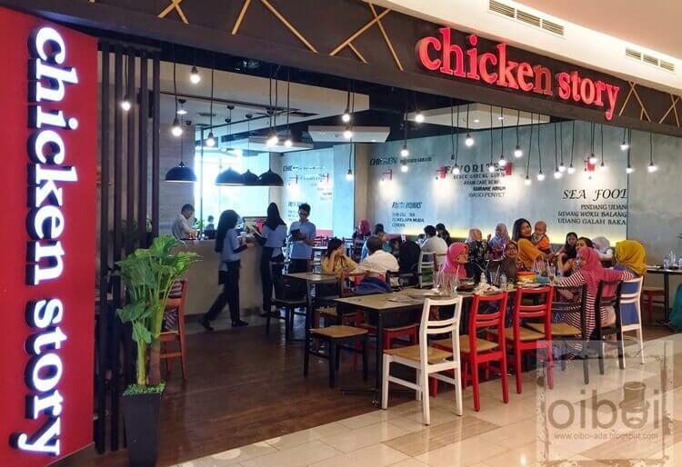 wisata kuliner chicken story palembang