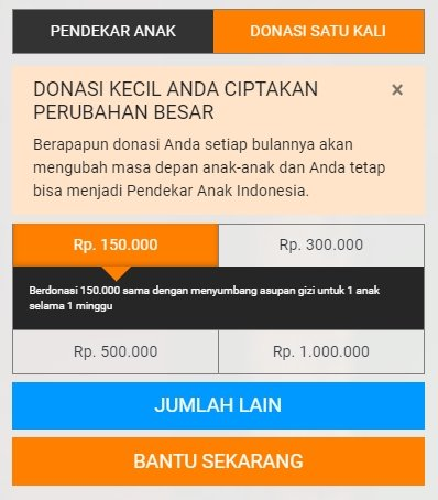 form donasi unicef indonesia secara online dan cara berhenti donasi unicef