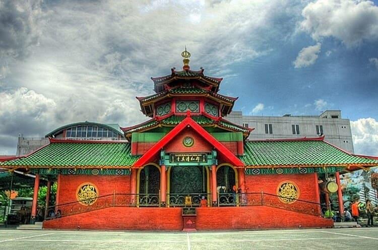 masjid muhammad cheng hoo, wisata surabaya bernuansa religi dan bersejarah
