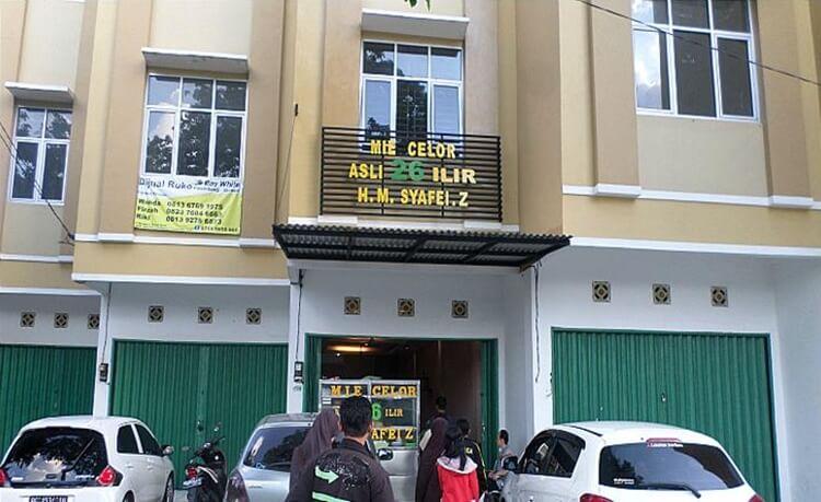 wisata kuliner mie celor 26 ilir palembang