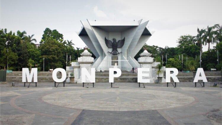 objek wisata palembang berupa monumen perjuangan rakyat