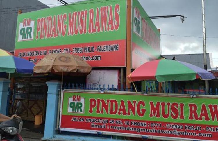 wisata kuliner rumah makan pindang musi rawas palembang