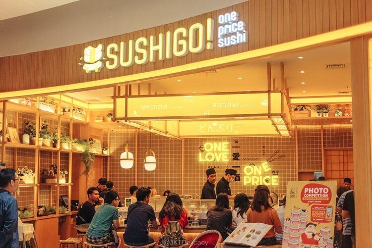 wisata kuliner sushi go palembang