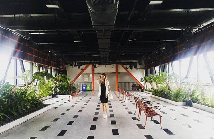 taman gantung, objek wisata surabaya yang unik dan instagrammable