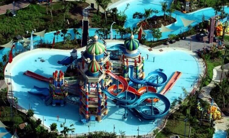 waterpark kenjeran, objek wisata surabaya terbaru paling populer