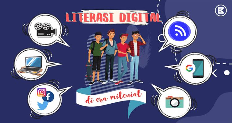 pengertian literasi digital, masa depan, manfaat dan faktanya di era milenial