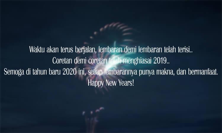 kata kata mutiara islami ucapan selamat tahun baru