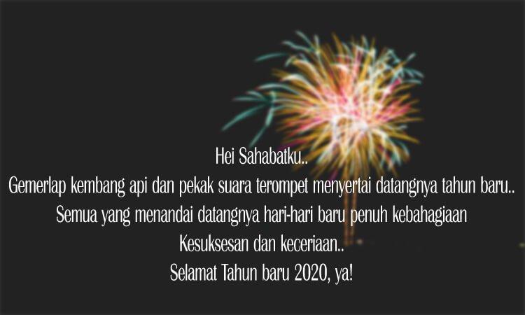 kata kata ucapan selamat tahun baru untuk sahabat