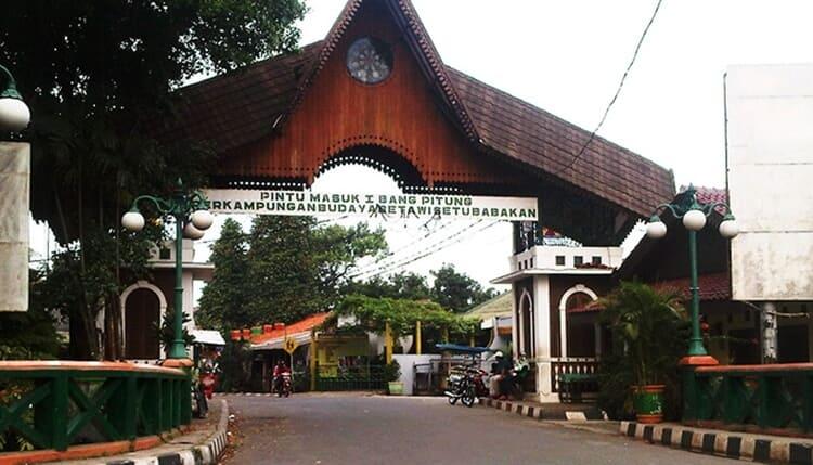 kawasan perkampungan budaya betawi setu babakan, objek wisata jakarta selatan