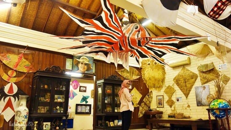 museum layang layang, objek wisata jakarta selatan yang fenomenal