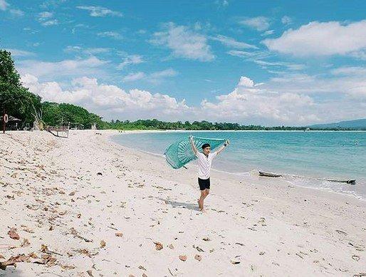 wisata pantai embe lampung cocok untuk liburan tahun baru