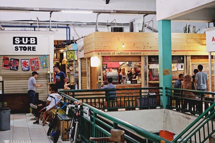 pasar santa, objek wisata jakarta selatan