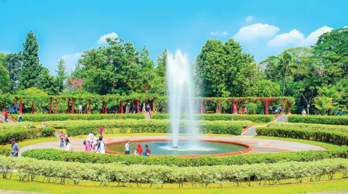 taman rekreasi wiladatika, objek wisata Jakarta timur yang paling instagrammable