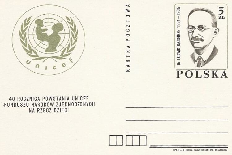 biografi dokter ludwik rajchman, sosok pendiri unicef (united nations children's fund)