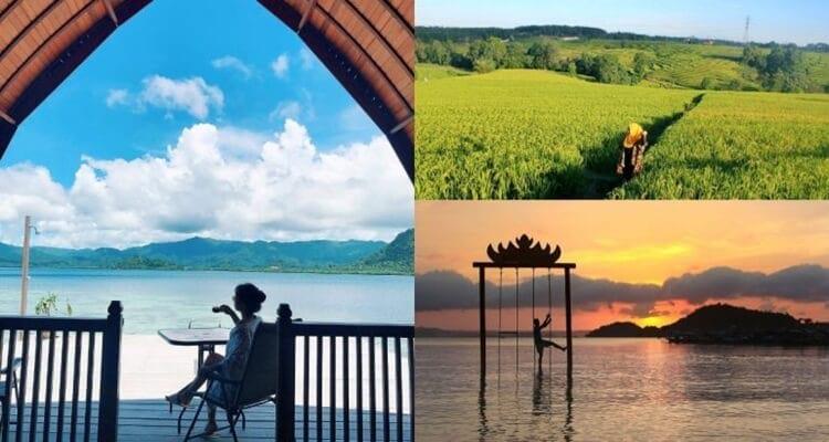 objek, destinasi dan tempat wisata lampung yang populer dan favorit anak muda
