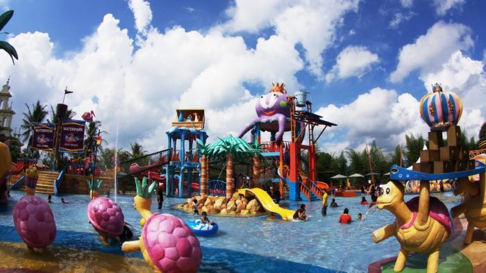 waterpark citra garden, lokasi wisata lampung yang elite dan menarik