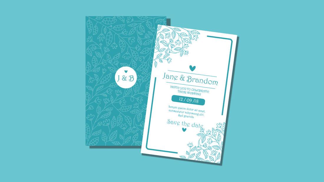 ide bisnis jasa pembuatan desain undangan pernikahan, ulang tahun, khitanan, dan acara resmi
