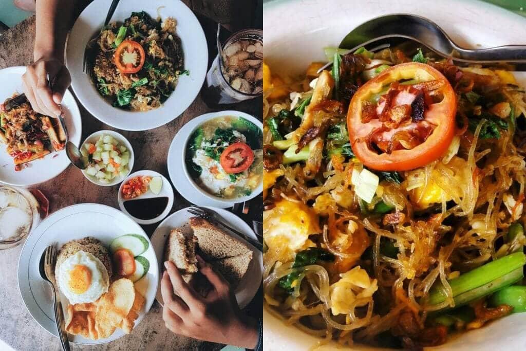 ide bisnis warung makanan sehat dan halal berbagai macam jajanan dan makanan