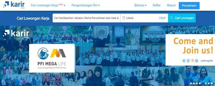 karir.com situs bursa kerja terpercaya, situs lowongan kerja terpercaya dan terbaik di indonesia