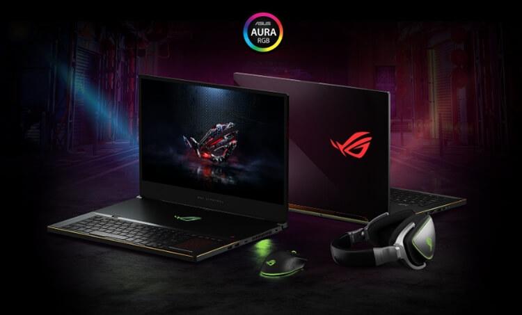 laptop gaming terbaik 2020 ASUS ROG Zephyrus S GX701
