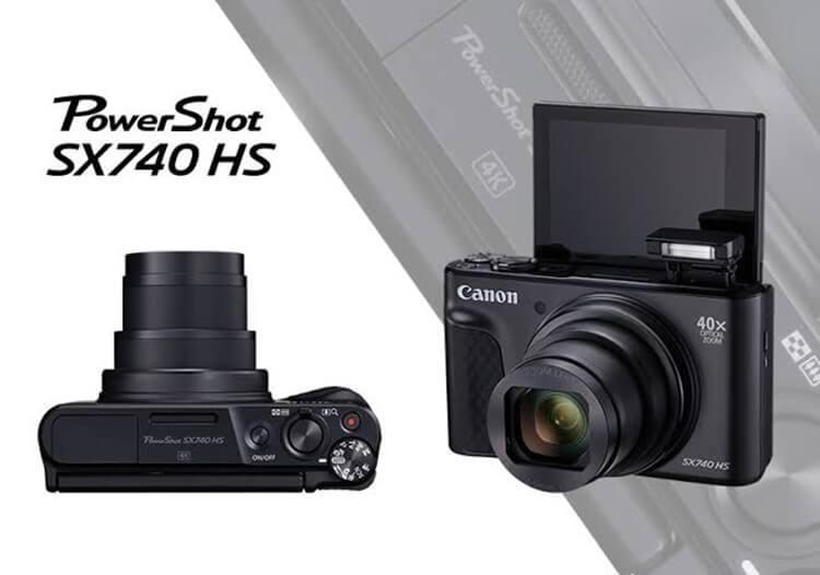 Canon PowerShot SX740 HS kamera canon terbaik 2019 untuk fotografi, videografi dan ngevlog