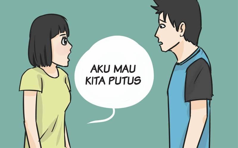 contoh kalimat putus yang nggak bikin sakit hati pacar dan pasangan