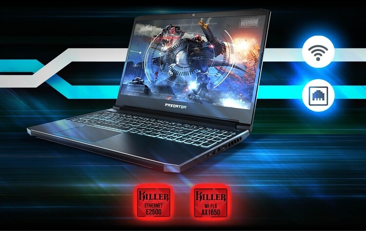 laptop gaming terbaik 2020 Predator Helios 300 (PH315-52-77J8)