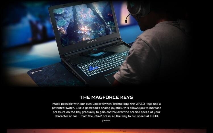 laptop gaming terbaik 2020 Predator Helios 700 (PH717-71-921N)