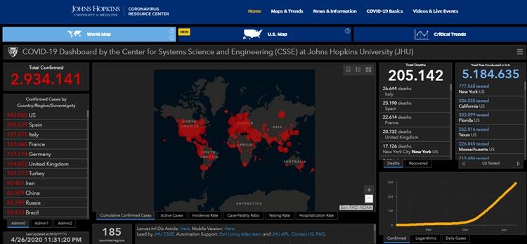 daftar negara yang positif terjangkit virus corona covid-19