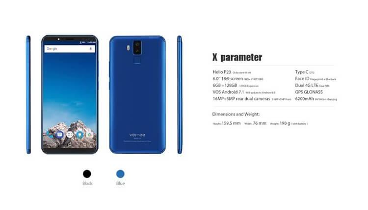 hp android baterai 5000 mAh vernee x