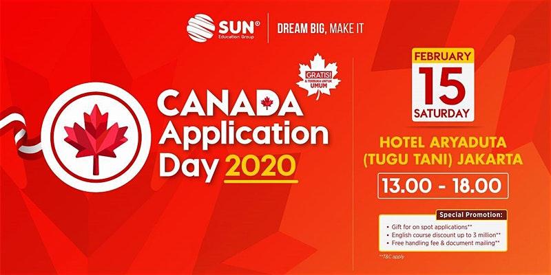 pameran pendidikan internasional 2020 dan Canada Application Day 2020