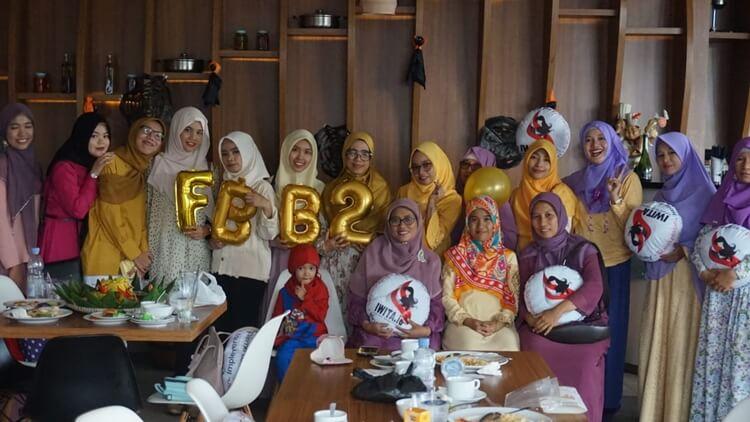 keluarga komunitas female blogger of banjarmasin