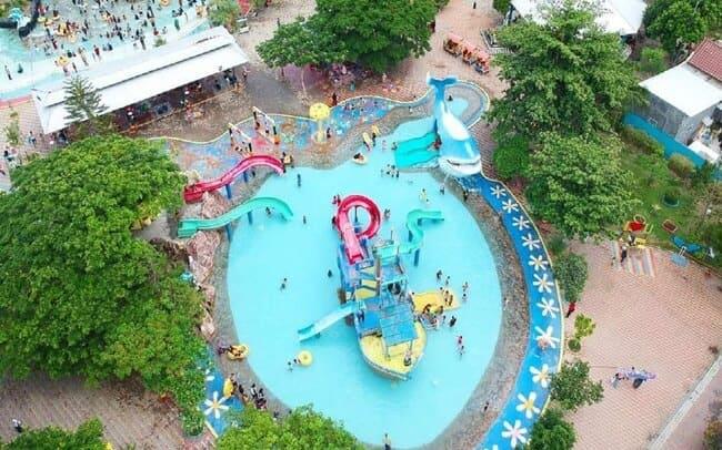 gerbang mas bahari waterpark dan tempat wisata di tegal yang ramah anak