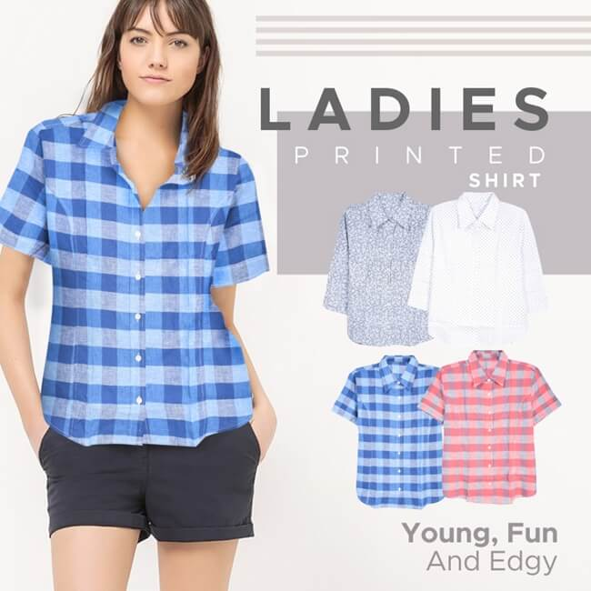 model kemeja wanita terbaru new collection joe fresh ladies office shirts