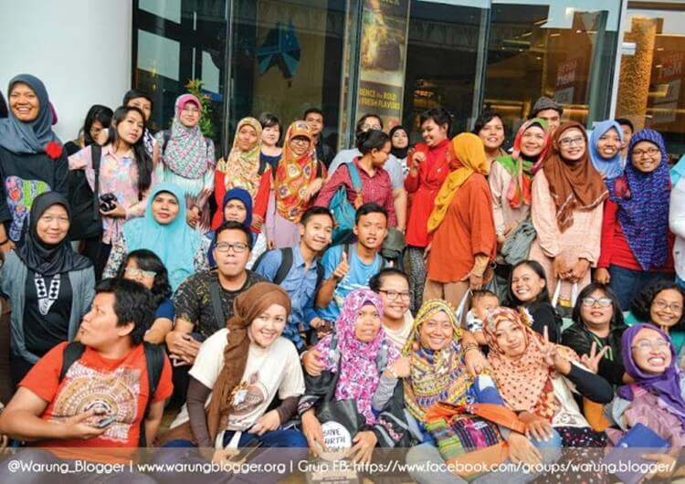 keluarga komunitas warung blogger