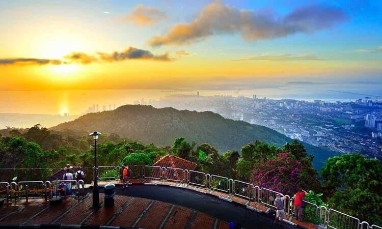 daftar pilihan destinasi dan tempat wisata di penang malaysia paling populer