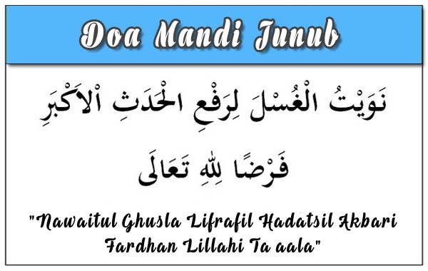 tuntunan lafaz bacaan niat dan tata cara mandi wajib yang benar di bulan ramadhan