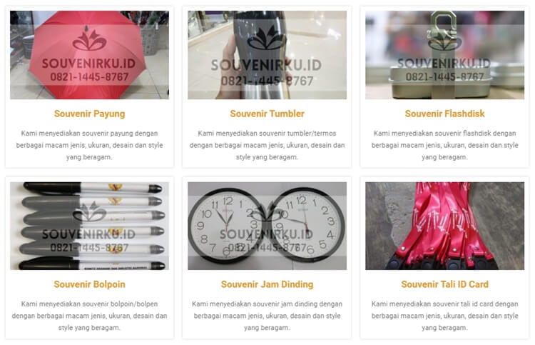 daftar produk souvenir tumbler murah beli aja di souvenirku.id