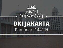 Jadwal Imsakiyah Ramadan 1441 H DKI Jakarta dan Sekitarnya