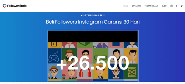 situs auto followers instagram, website penambah followers, web auto followers instagram