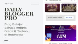 daily blogger pro academy, situs belajar bahasa inggris gratis dan terbaik di indonesia secara online