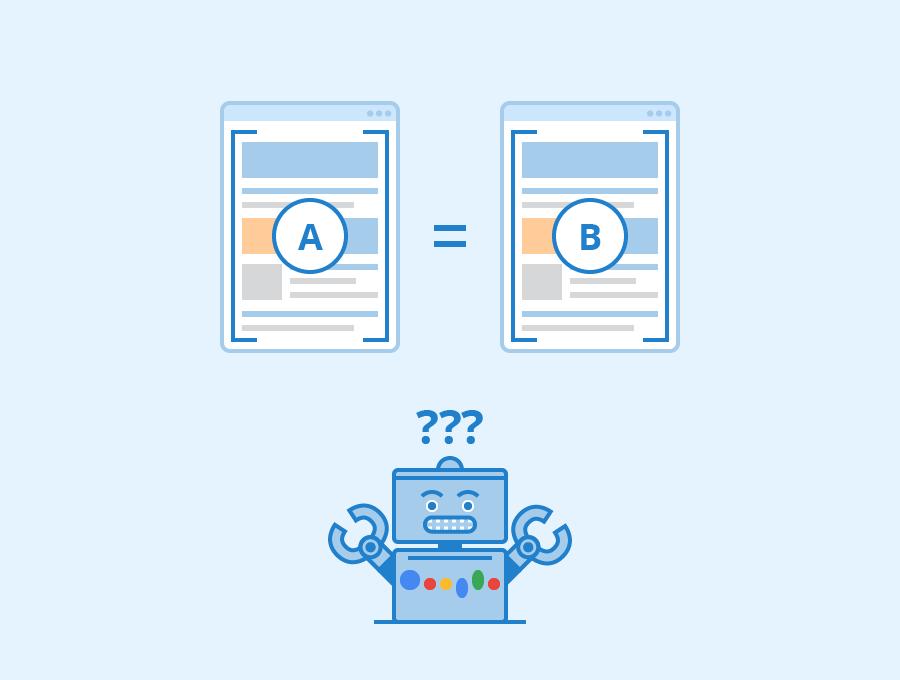 permasalahan konten duplikat dan beberapa cara mengatasinya untuk pemula