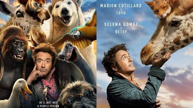 film barat terbaru dolittle (2020)