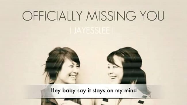 lagu jayesslee officially missing you