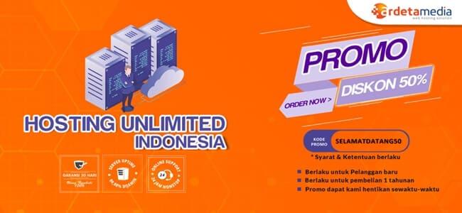 paket web hosting unlimited indonesia murah ardetamedia