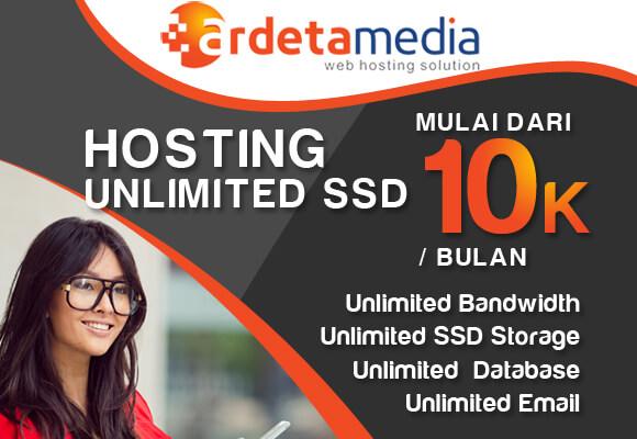promo web hosting unlimited ssd ardetamedia.com