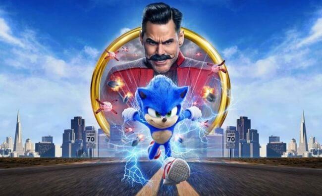 film barat terbaru sonic the hedgehog (2020)